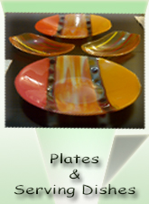 Glass Plates, Glass Serving Dishes